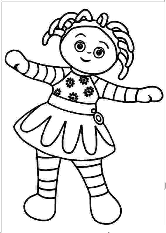 free colouring pages in the night garden in the night garden coloring pages16 coloring kids night in garden colouring free the pages