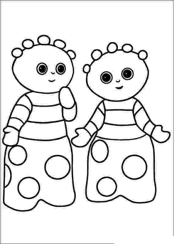 free colouring pages in the night garden in the night garden coloring pages17 coloring kids in the colouring free night garden pages