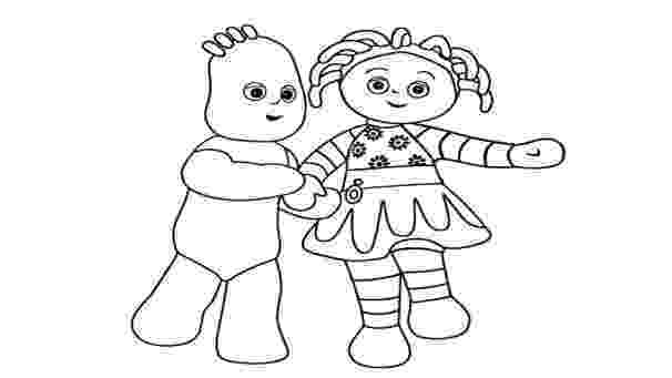 free colouring pages in the night garden in the night garden coloring pages3 coloring kids pages garden colouring the free in night