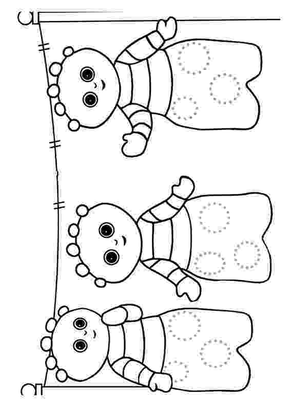 free colouring pages in the night garden in the night garden coloring pages4 coloring kids pages colouring free the in garden night