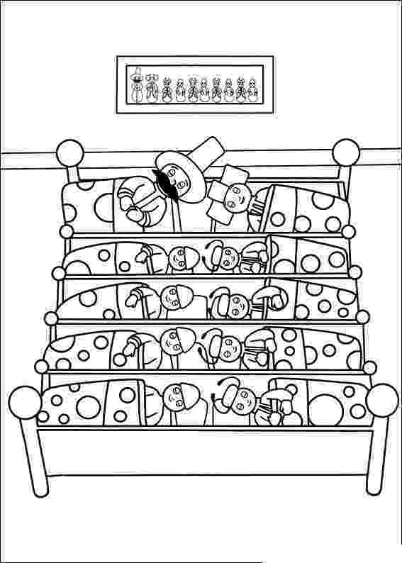 free colouring pages in the night garden in the night garden coloring pages5 coloring kids colouring garden night pages the in free