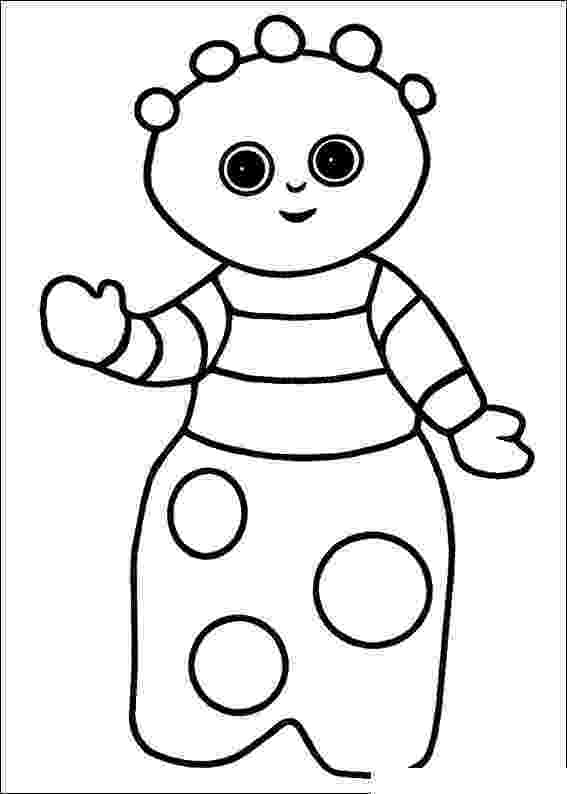 free colouring pages in the night garden in the night garden coloring pages8 coloring kids colouring pages free in garden the night