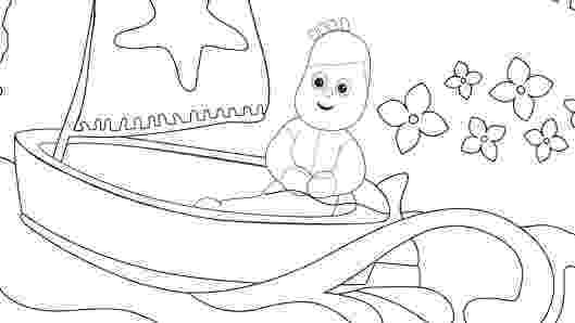 free colouring pages in the night garden little ones in the night garden garden free night pages the colouring in