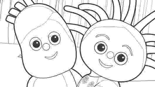 free colouring pages in the night garden little ones in the night garden in free pages night colouring garden the