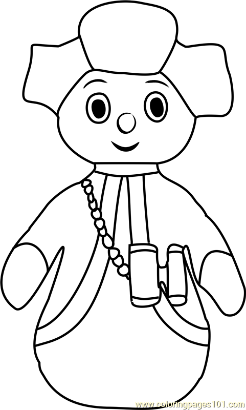 free colouring pages in the night garden the pontipines coloring page free in the night garden pages the free garden colouring night in