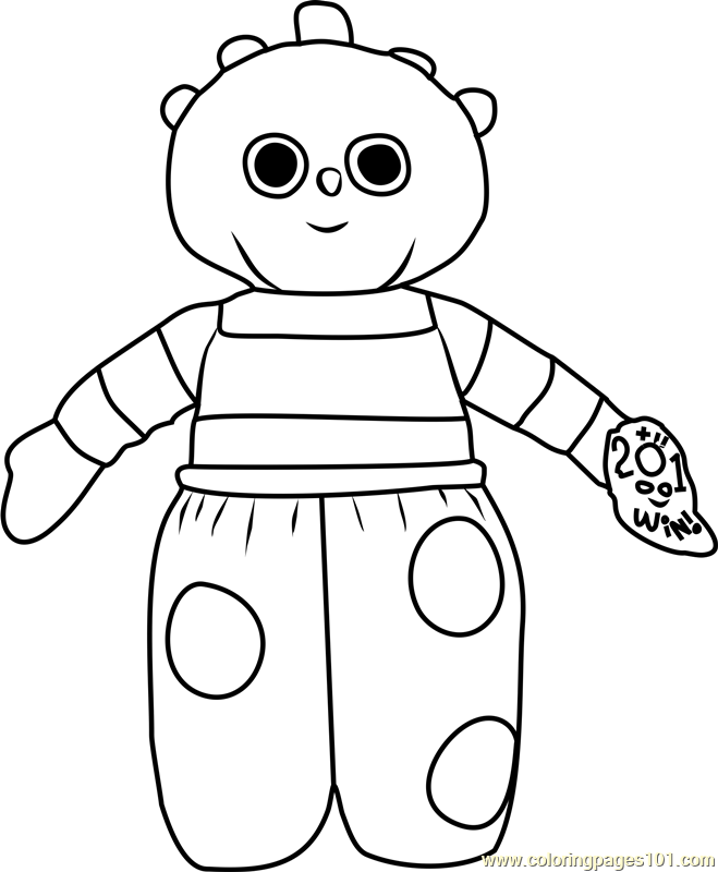 free colouring pages in the night garden unn coloring page free in the night garden coloring colouring in free garden pages night the
