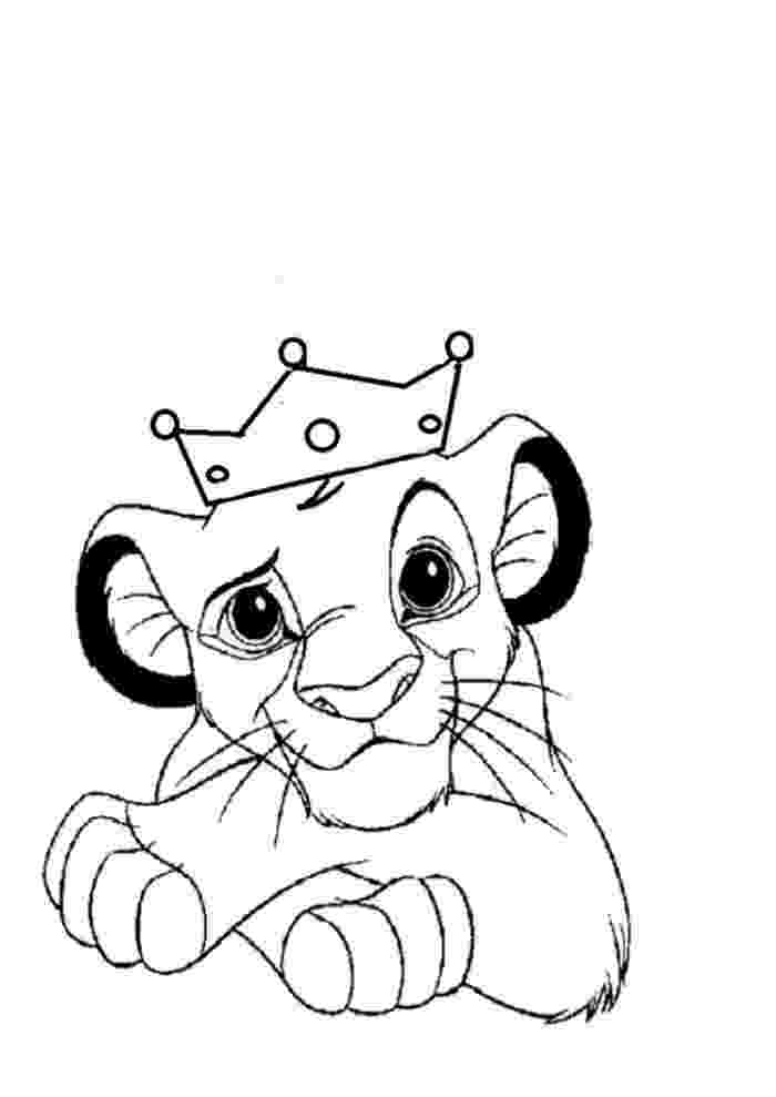 free colouring pages lion king lion king printable coloring pages coloring home pages colouring king lion free