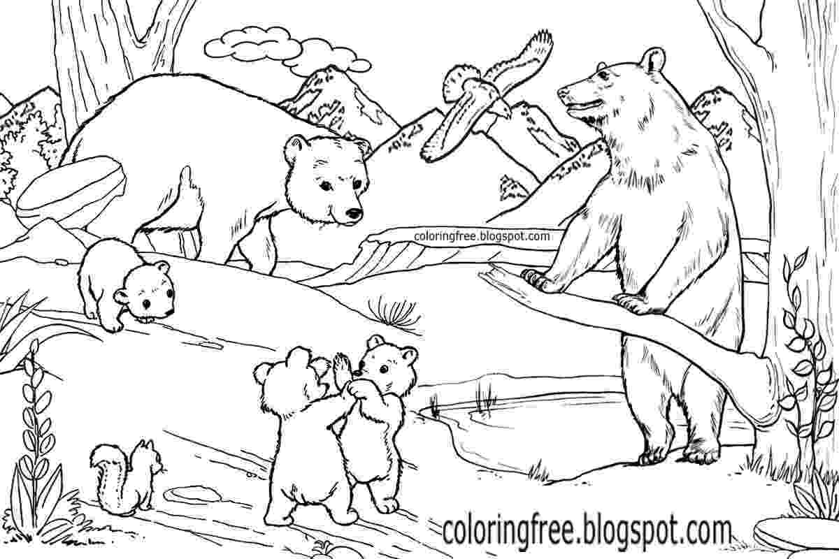 free colouring pages wild animals wild animals coloring pages getcoloringpagescom pages colouring animals free wild