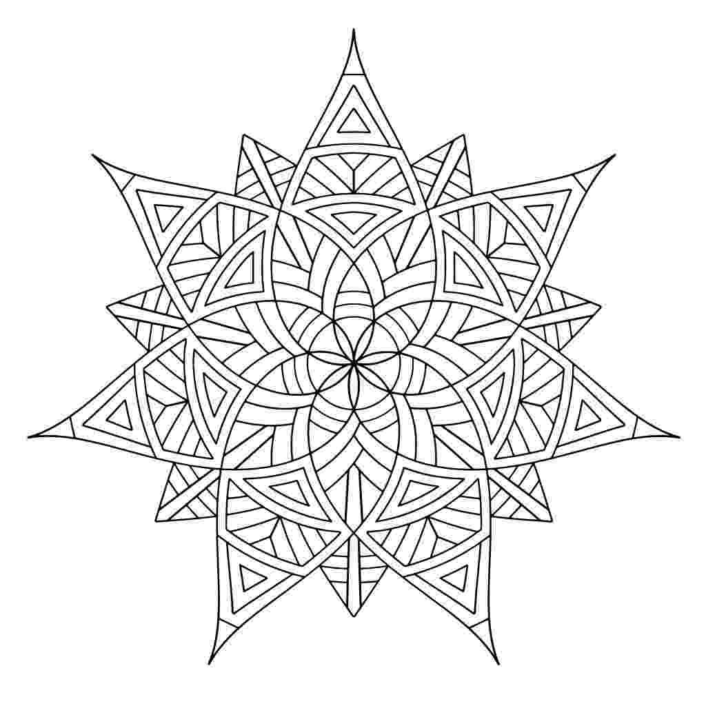free designs to color free printable geometric coloring pages for kids color designs free to