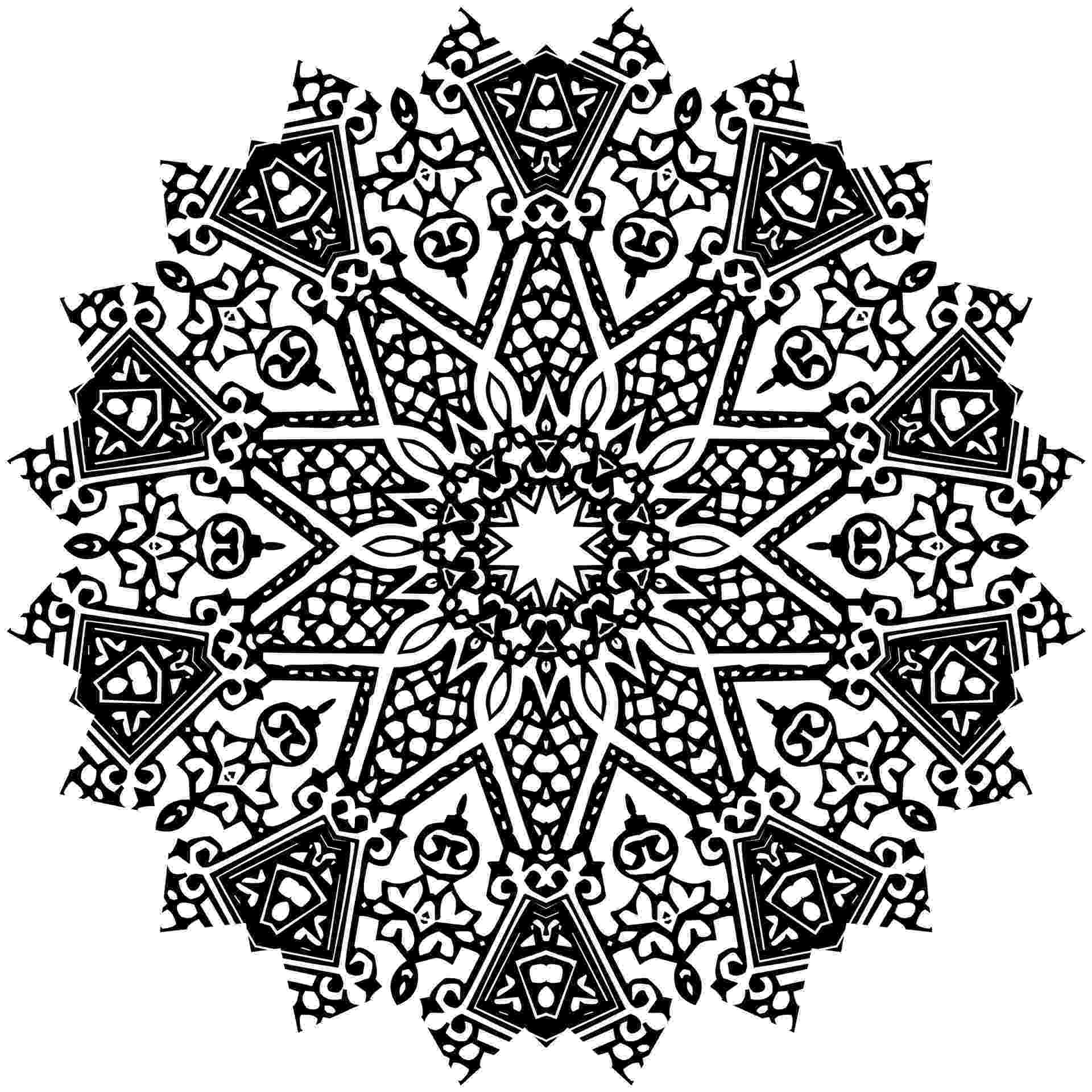 free detailed coloring pages free printable abstract coloring pages for adults coloring detailed pages free
