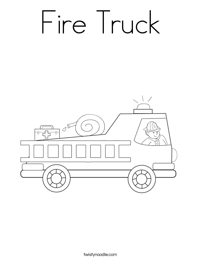 free fire truck coloring pages to print fire engine drawing at getdrawingscom free for personal fire coloring print truck free to pages