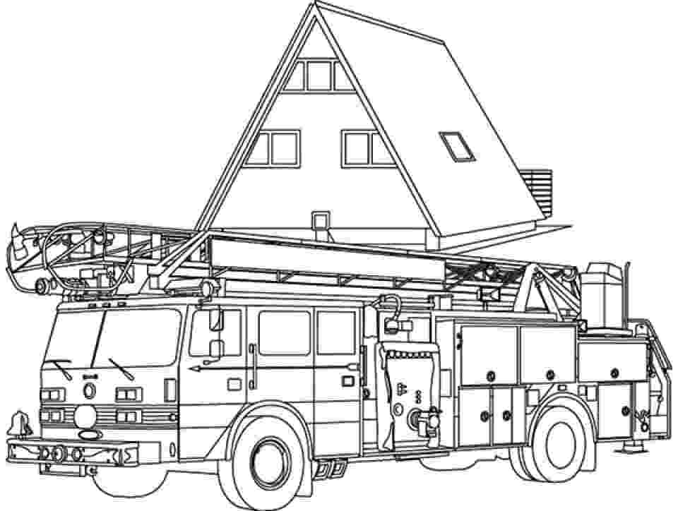 free fire truck coloring pages to print fire truck coloring pages getcoloringpagescom truck coloring free fire to pages print