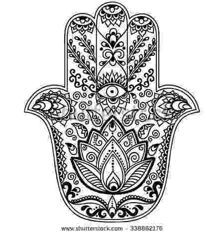 free hamsa coloring page hamsa coloring pagesclick the link now to find the center free hamsa coloring page