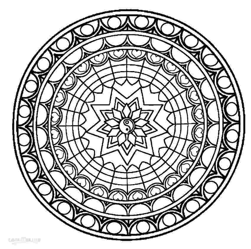 free mandala printables 100 best printable mandalas to color free images on free printables mandala