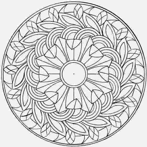 free mandalas to print printable coloring pages free mandalas to print