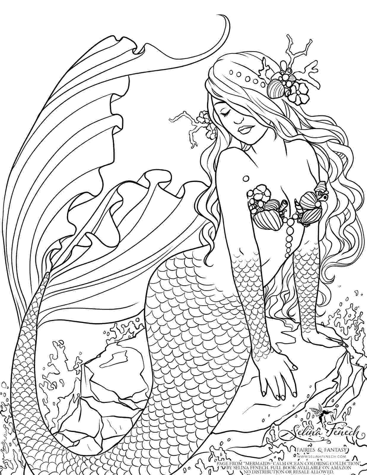 free mermaid coloring pages mermaid coloring pages to download and print for free coloring mermaid pages free