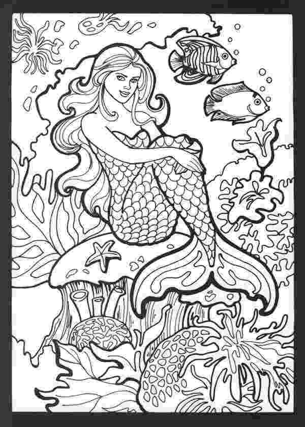 free mermaid coloring pages realistic mermaid coloring pages download and print for free coloring mermaid pages free