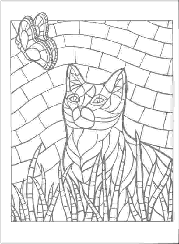 free mosaic patterns to color free mosaic coloring pages printables coloring home color mosaic patterns to free