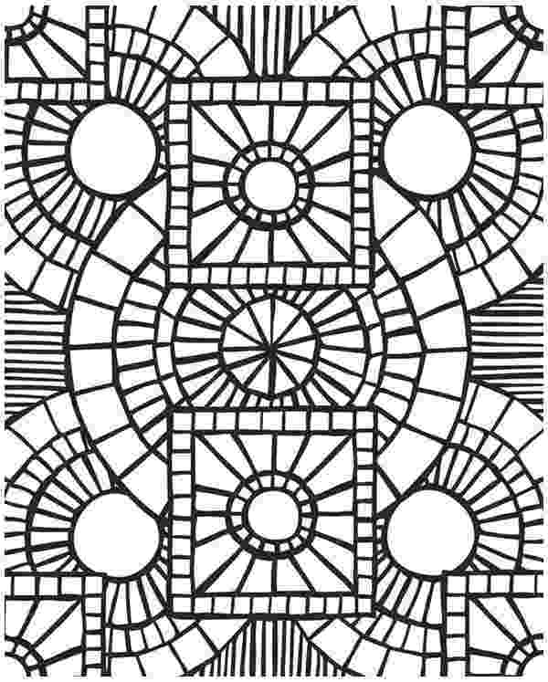 free mosaic patterns to color mosaic coloring pages to download and print for free mosaic free color to patterns
