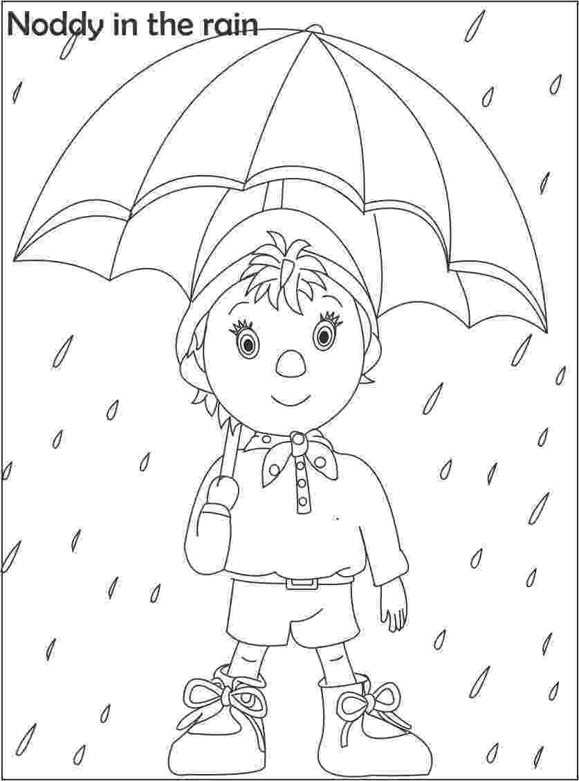 free noddy colouring pages bumpy dog printable coloring page for kids pages colouring free noddy