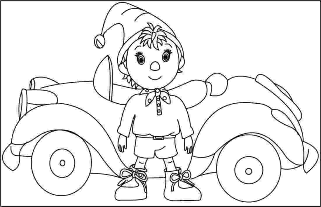 free noddy colouring pages coloring book noddy colouring pages free noddy