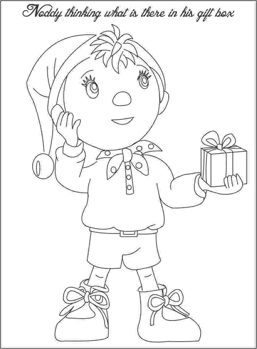free noddy colouring pages coloring book noddy pages colouring free noddy