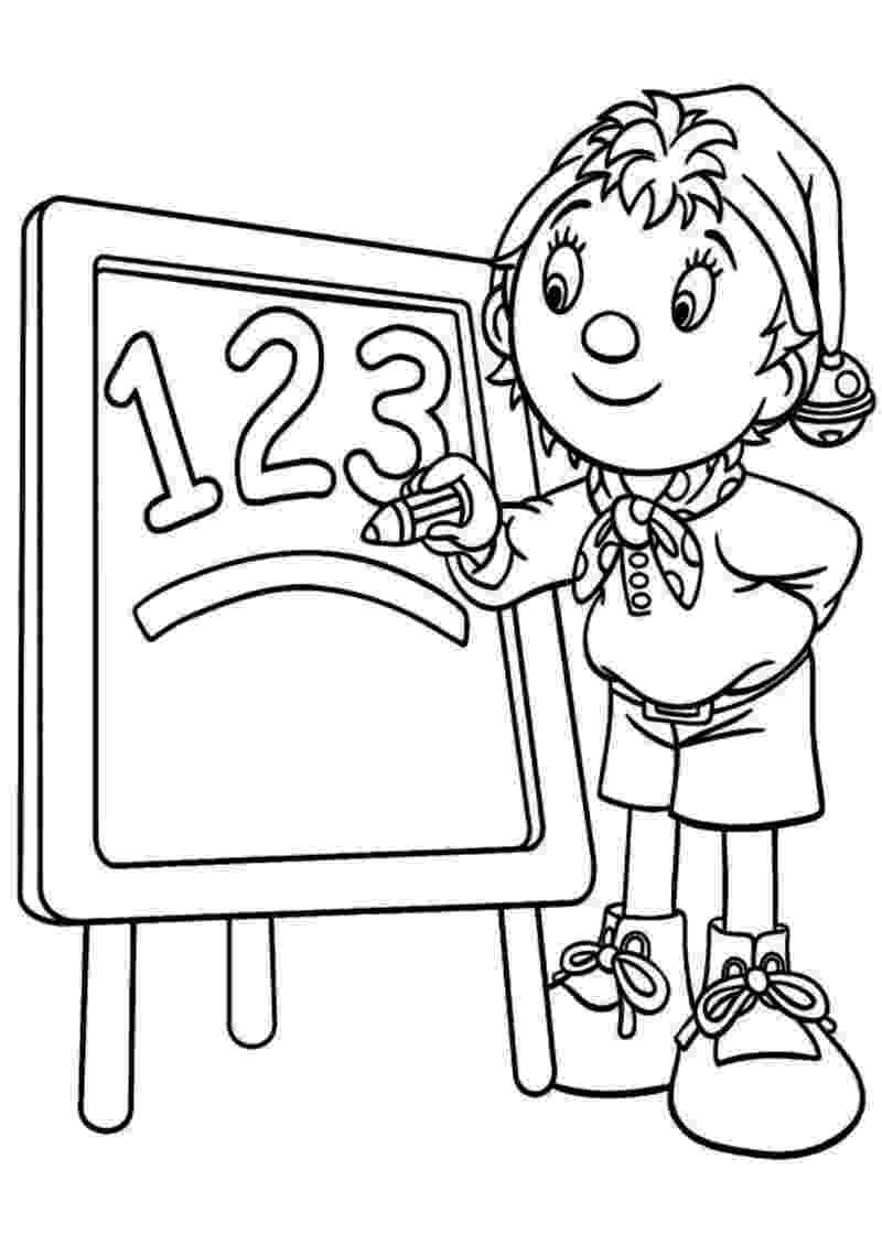 free noddy colouring pages coloring book noddy pages noddy free colouring