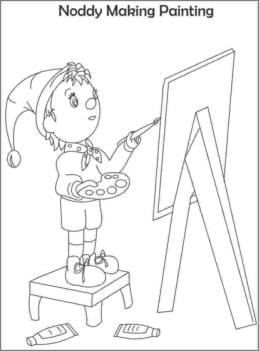 free noddy colouring pages mr jumbo coloring page supercoloringcom free colouring noddy pages