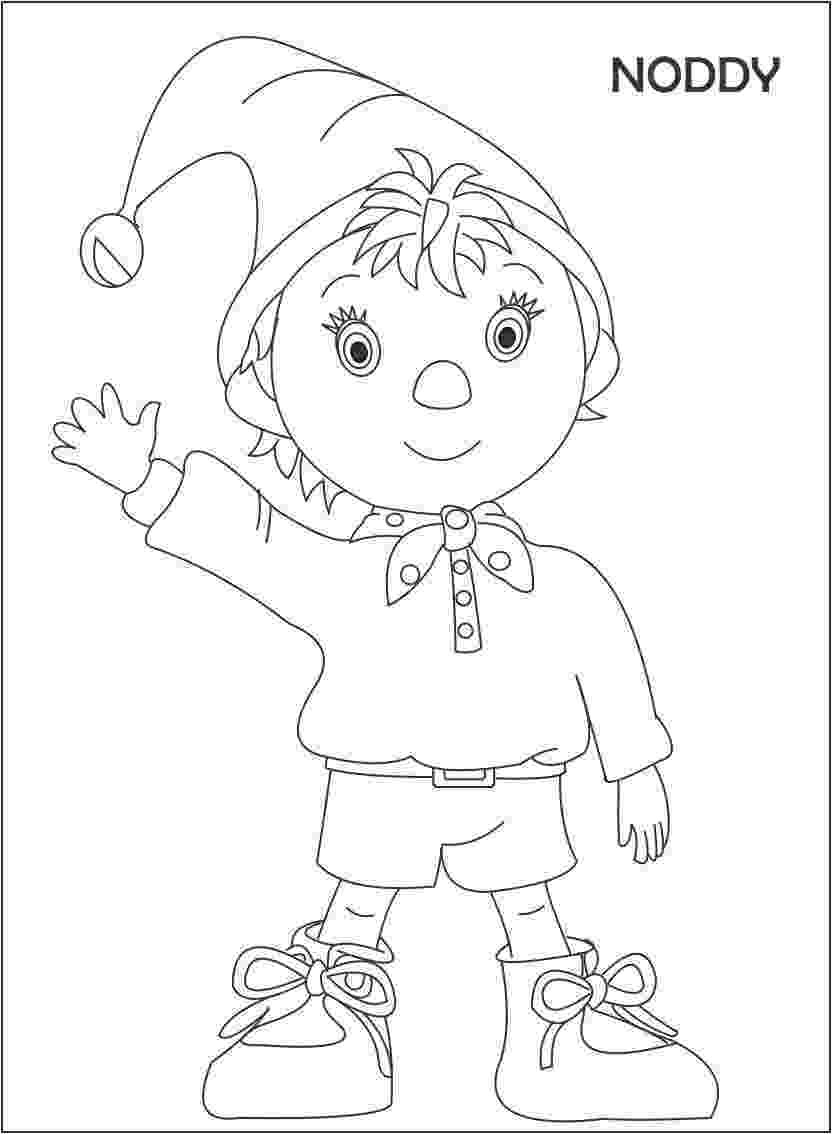 free noddy colouring pages noddy making painting coloring page for kids pages noddy free colouring
