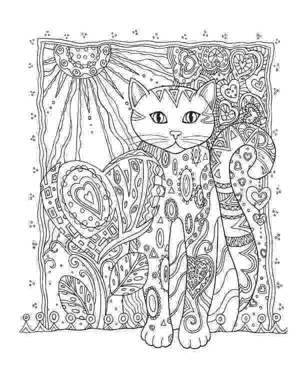 free online coloring pages for adults cats 30 free printable cat coloring pages coloring adults cats for online pages free