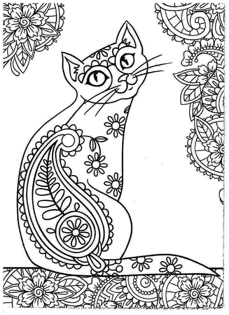 free online coloring pages for adults cats cat coloring page animal coloring pages bird coloring adults cats for coloring pages free online