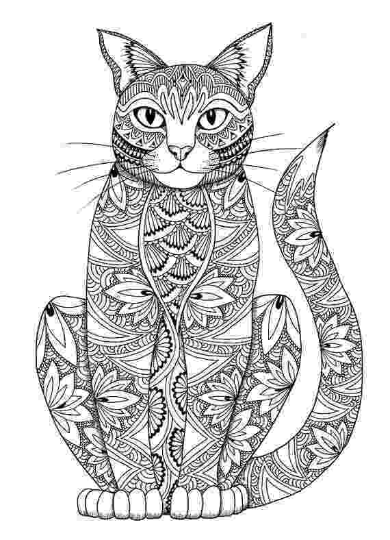 free online coloring pages for adults cats cat coloring page by miedzykreskami on etsy adult free adults online for pages cats coloring