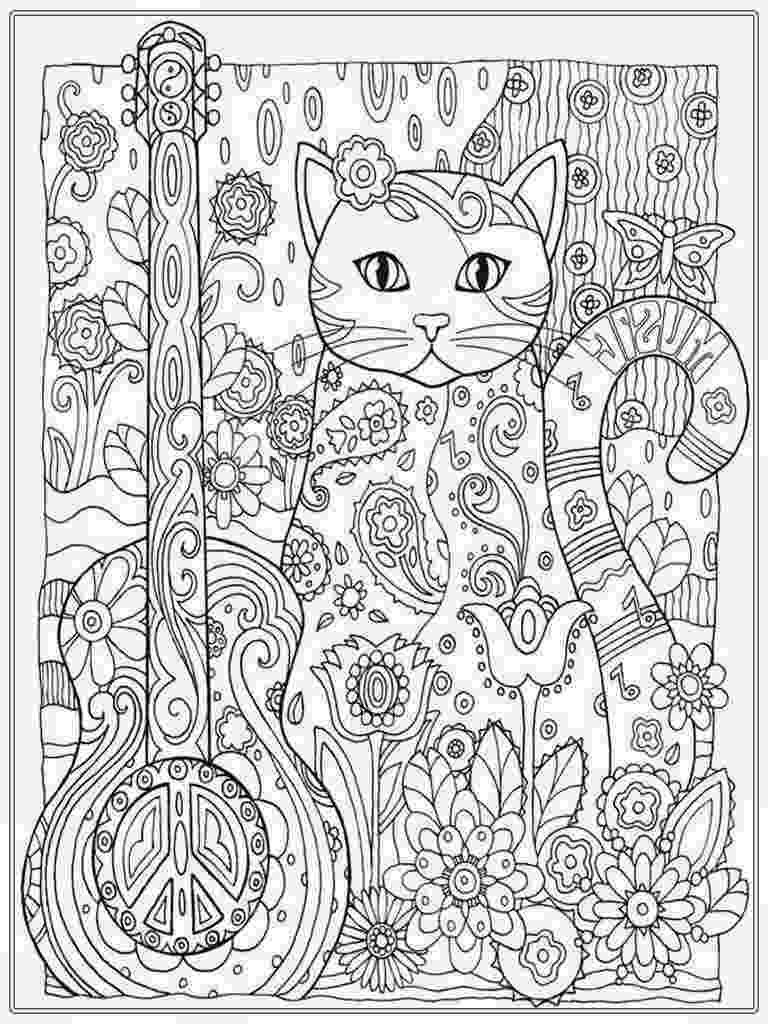 free online coloring pages for adults cats cat coloring pages for adult cat coloring page cat coloring for free cats pages online adults
