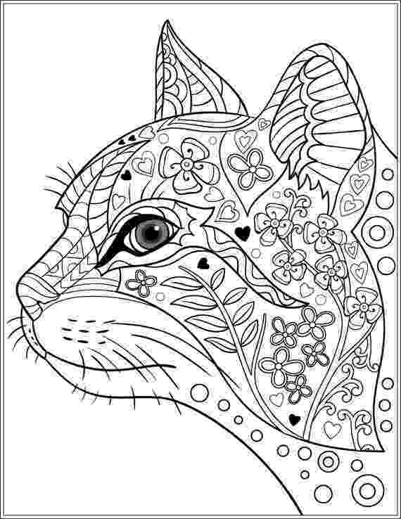 free online coloring pages for adults cats cat coloring pages for adults online for cats pages free adults coloring