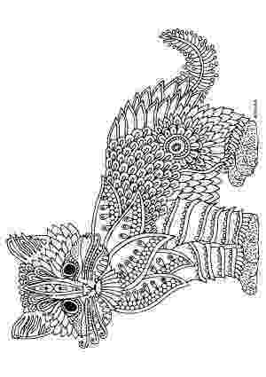 free online coloring pages for adults cats free printable pages illustration by keiti animal pages free adults for coloring cats online