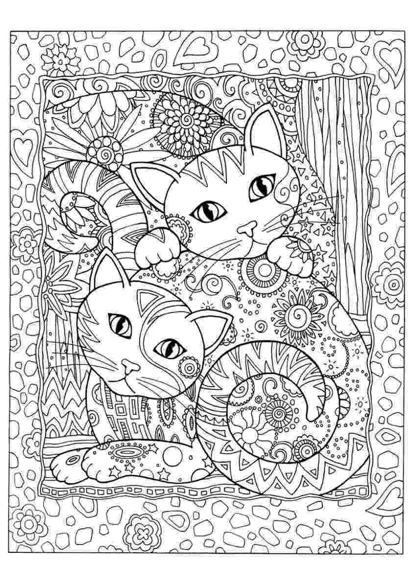 free online coloring pages for adults cats gatos para colorir coloring books cat coloring page online adults for cats free pages coloring