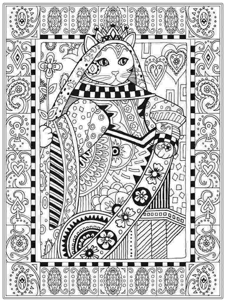 free online coloring pages for adults cats the ministers cat is a coloring cat wrotetrips for online cats pages adults coloring free