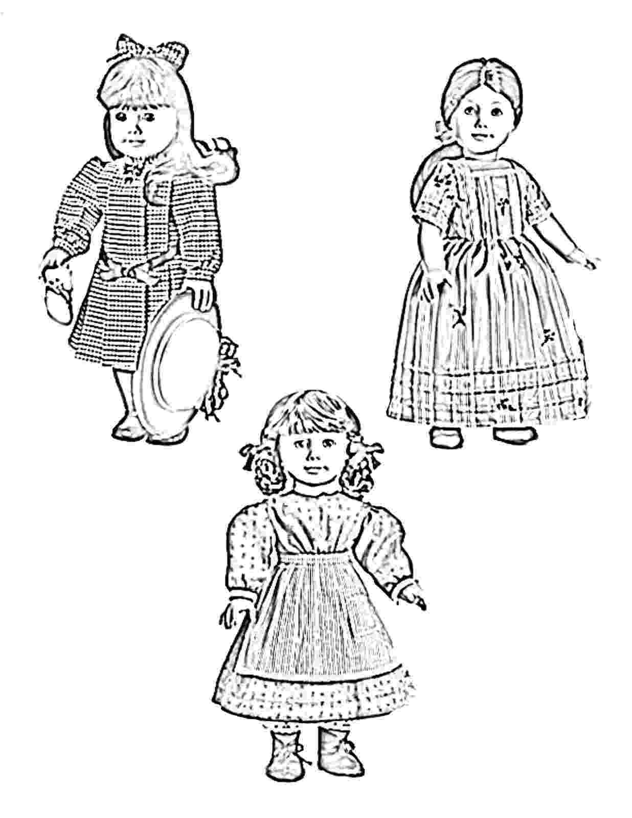 free printable american girl doll coloring pages american girl doll coloring pages printable activity shelter printable free doll coloring pages american girl