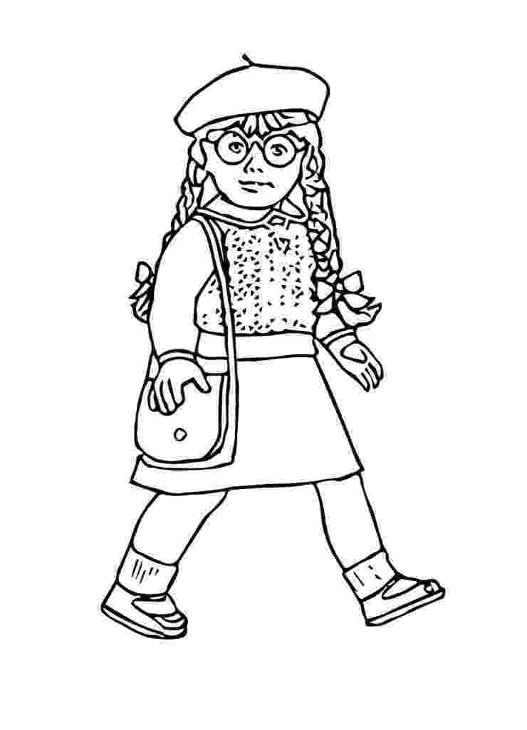 free printable american girl doll coloring pages free girl doll coloring pages doll printable pages coloring girl american free
