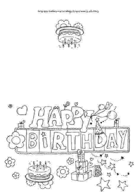 free printable coloring birthday card for teacher 25 free printable happy birthday coloring pages teacher printable birthday card for coloring free