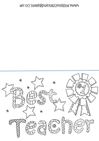 free printable coloring birthday card for teacher teacher appreciation day kids puzzles and games teacher for birthday card free coloring printable