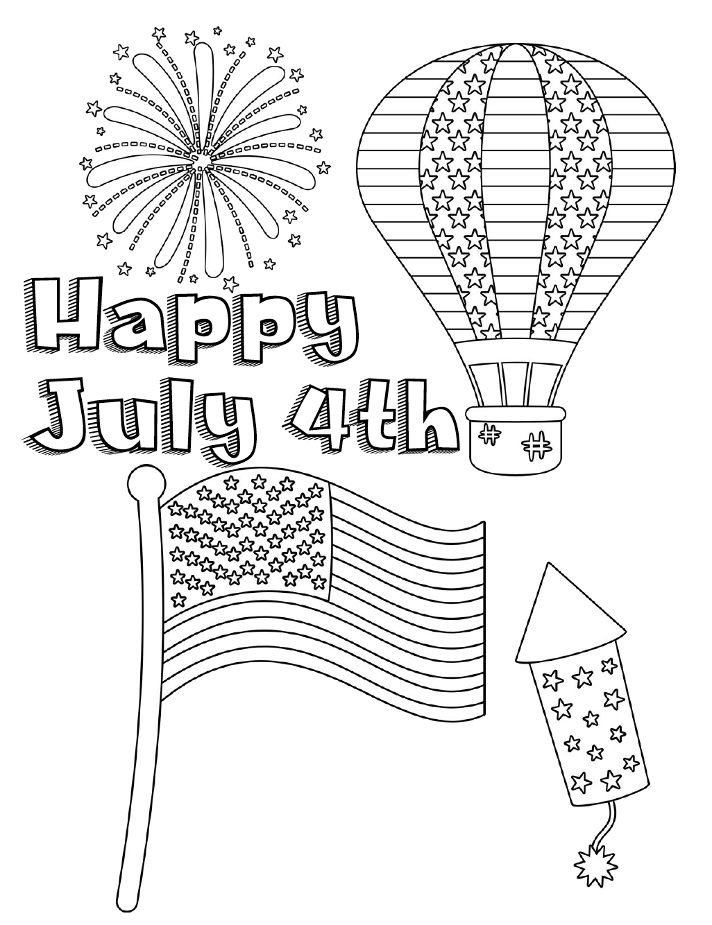 free printable coloring pages 4th of july patriotic 4th of july coloring pages july 4th free coloring 4th free july of pages printable