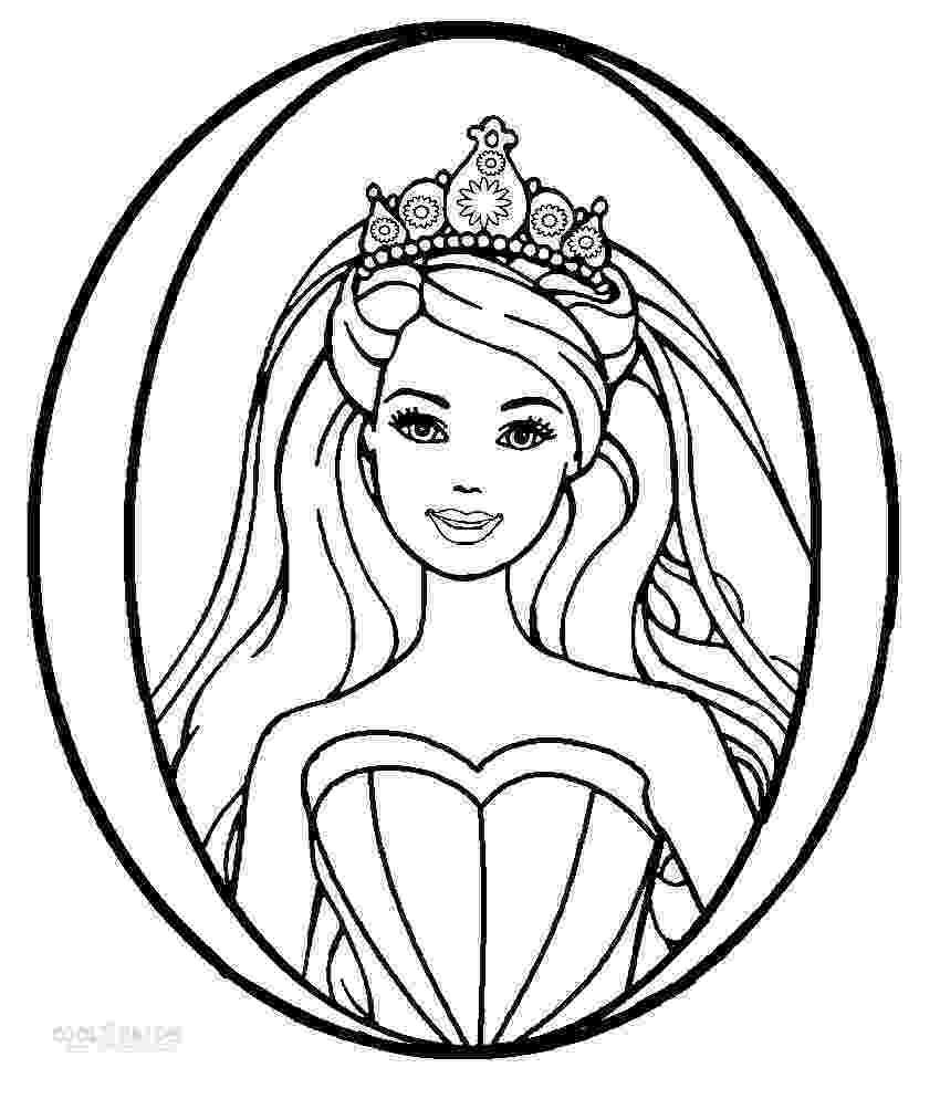 free printable coloring pages barbie printable barbie princess coloring pages for kids cool2bkids barbie free pages printable coloring