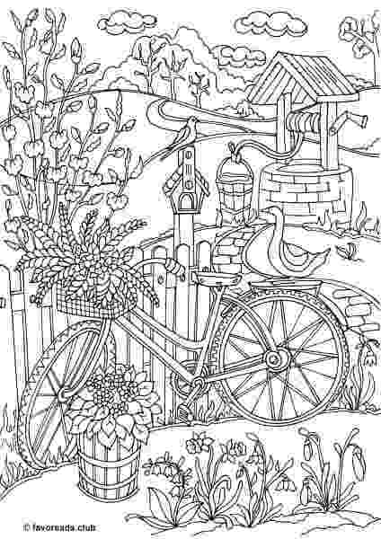 free printable coloring pages for adults nature harmony of nature adult coloring book pg 30 coloring coloring adults nature pages for printable free