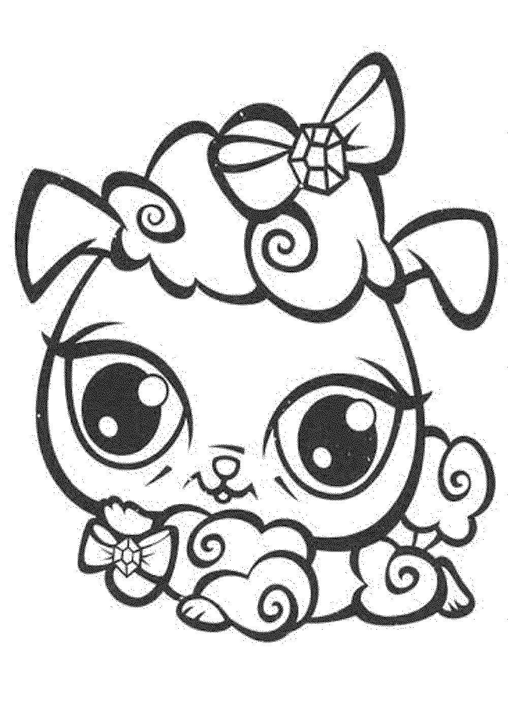 free printable coloring pages littlest pet shop littlest pet shop coloring pages horse coloringstar free shop printable pages pet coloring littlest