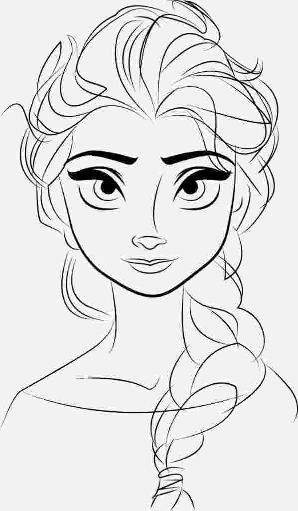free printable coloring pages of elsa from frozen free printable elsa coloring pages for kids best pages coloring of from free elsa printable frozen