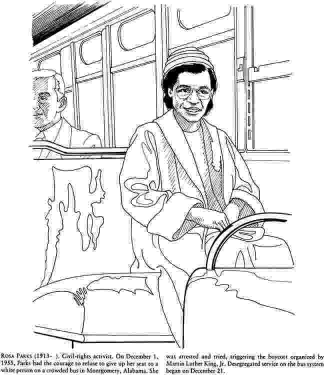 free printable coloring pages of rosa parks martin luther king jr rosa parks coloring page freebie pages printable rosa free of coloring parks