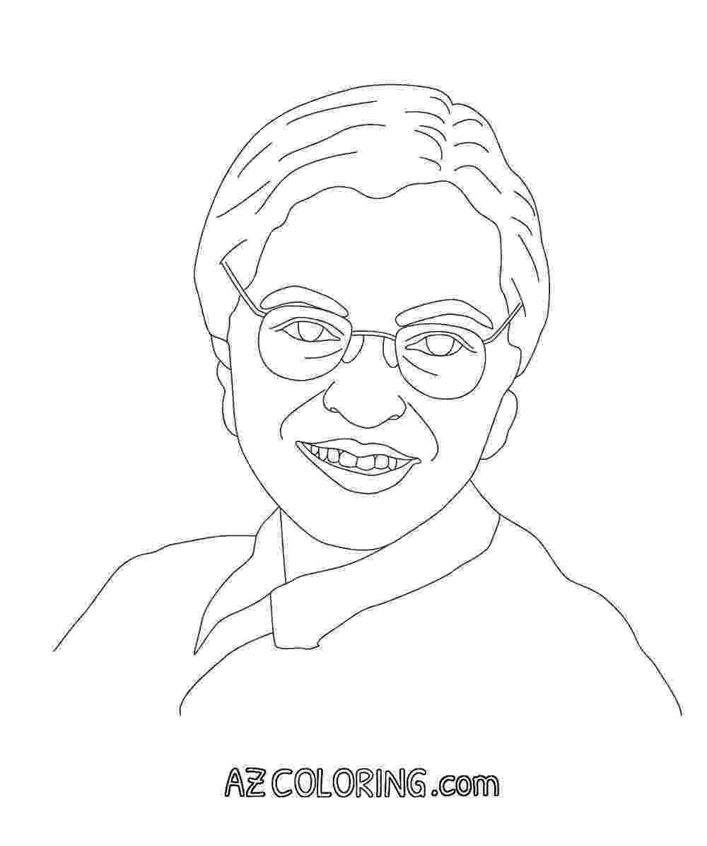 free printable coloring pages of rosa parks rosa parks coloring pages coloring home pages coloring printable of parks rosa free