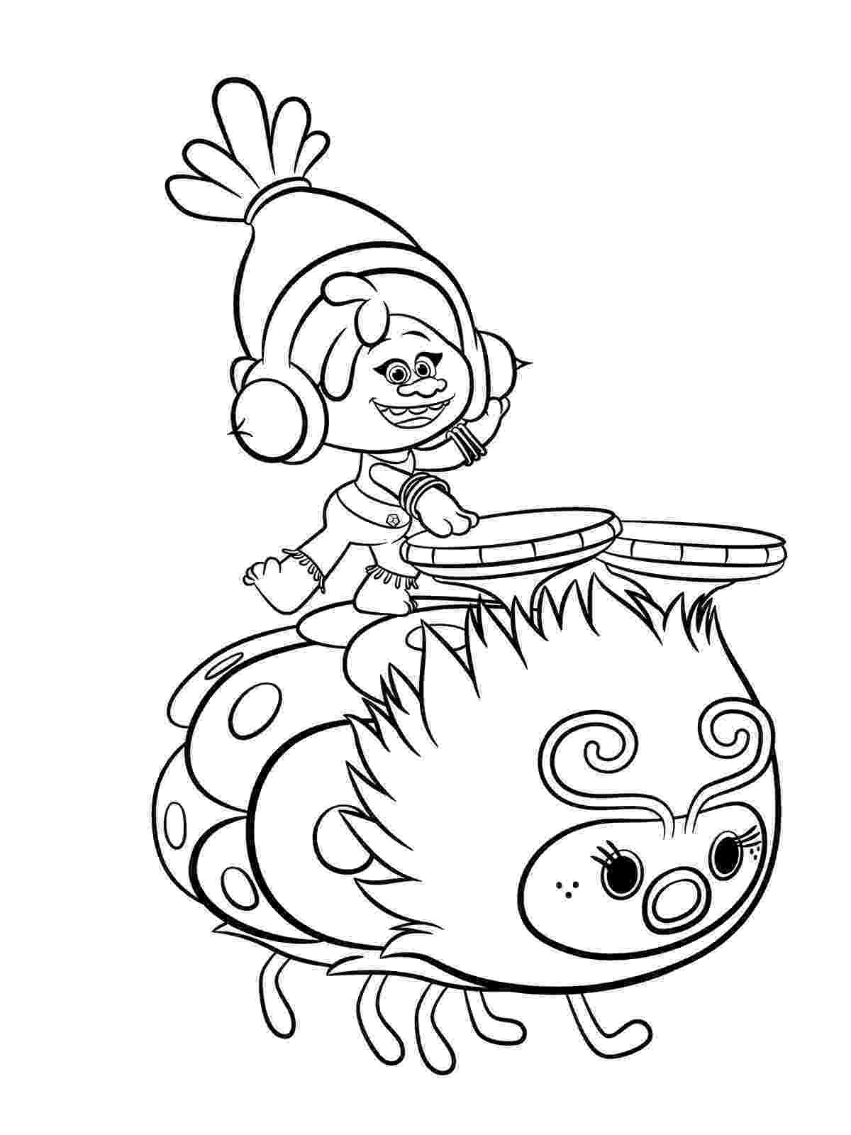 free printable coloring pictures trolls coloring pages to download and print for free pictures free printable coloring