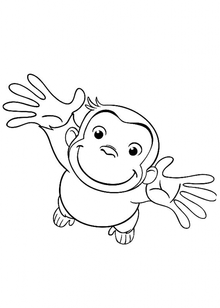 free printable curious george coloring pages curious george coloring pages for kids free birthday free pages curious printable coloring george